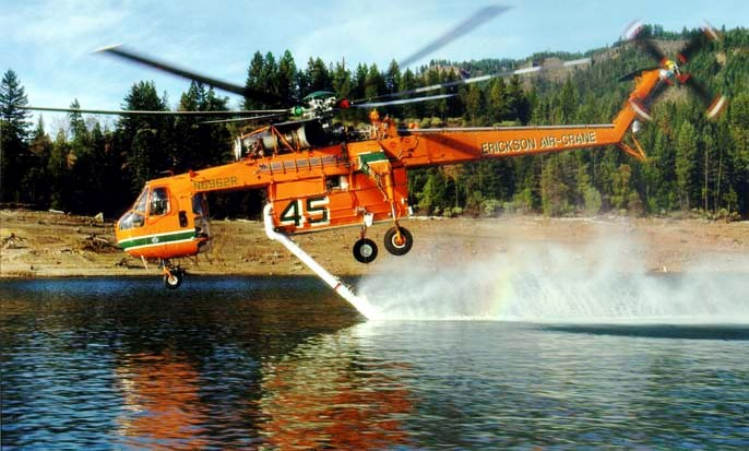 Rent Helicopters- Rent Air Crane helicopters for Heavy
