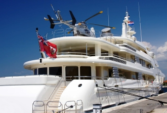 Rent helicopters for yachts