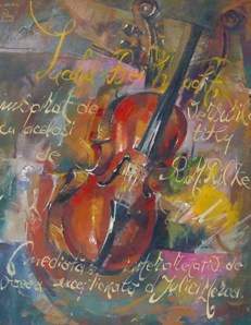 The violin-40x50cm - EURO 690