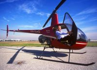 Helicopter tour over Bucharest